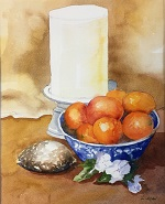 Candle, Fruit and Shell